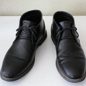 LONDON FOG BLACK BOOTS